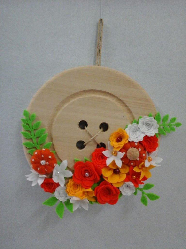 bottone in legno