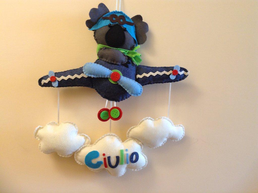 Fiocco nascita koala pilota