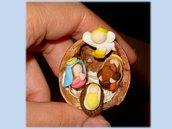 Presepe in miniatura
