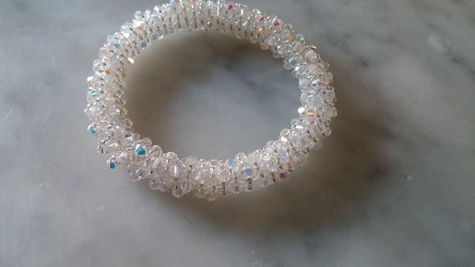 Bracciale Capriccio Tubolare Crystal ab
