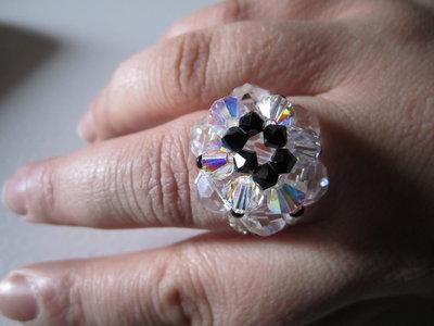 Anello seta crystal