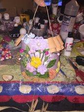 Tegole decorate biscotto