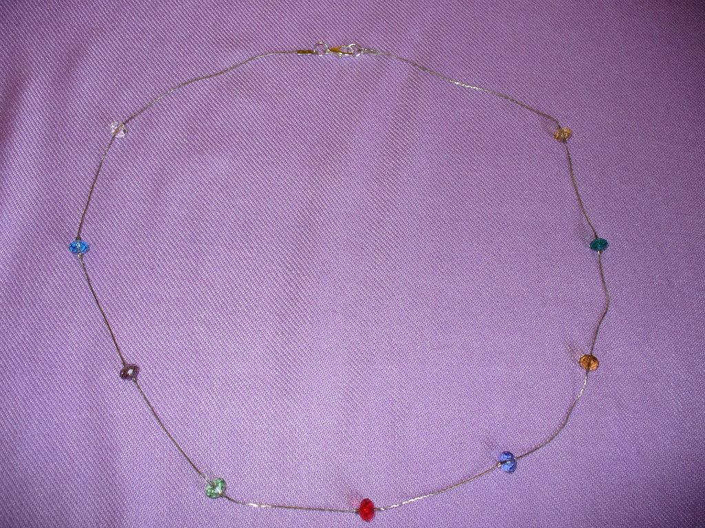 Collana Cristalli Cinesi - Vari colori