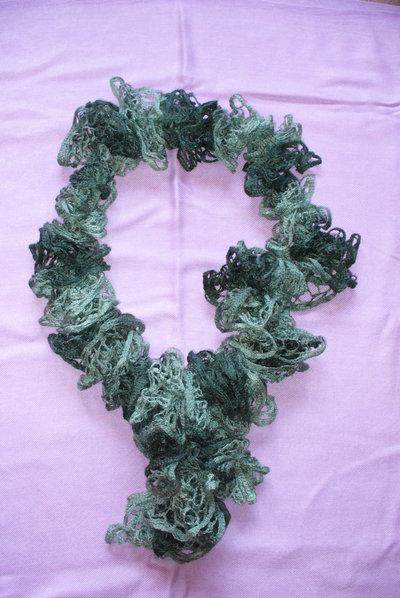 Sciarpa Toni del Verde