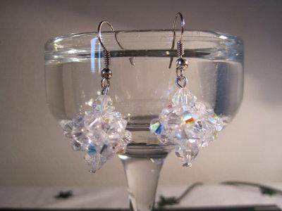 Orecchini Turchia Crystal aurora Boreale