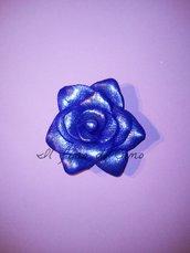 bomboniera rosa blu in fimo