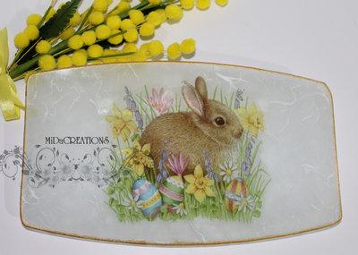 Piatto porta cioccolatini per Pasqua! (medio)