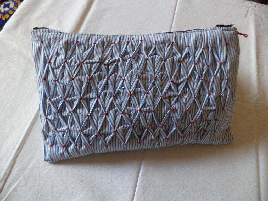 borse in stoffa di cotone stile marinaro