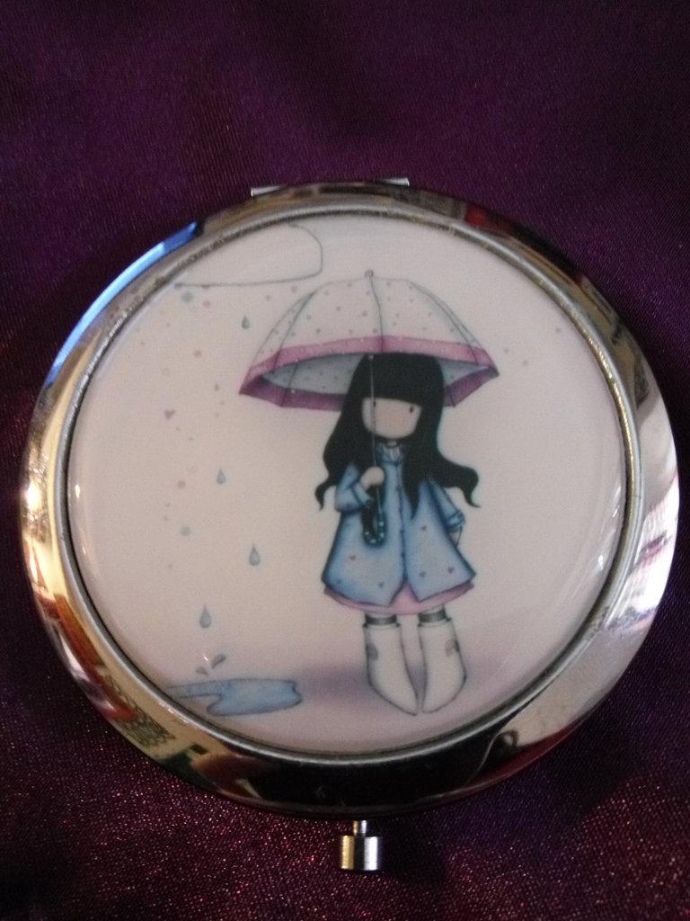 Specchietto Gorjuss - Umbrella