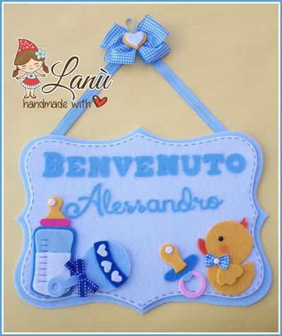 Annuncio fiocco nascita : Baby's stuff