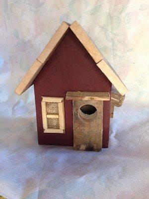 casetta per uccelli in legno - yuta