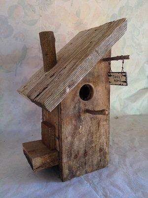 casetta per uccelli in legno - PINO -