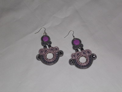 "Orecchini Soutache ""Romantic"""