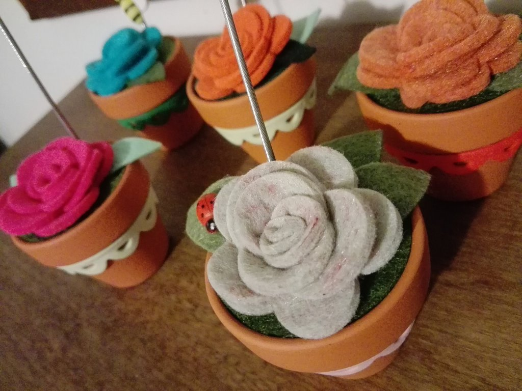 Vasetto fiore portafoto