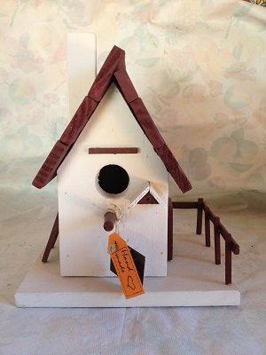 casetta per uccelli in legno - CHIARA -