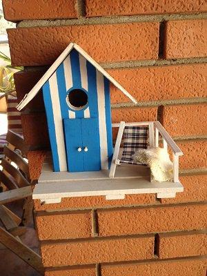 casetta per uccelli in legno - CAPRI -
