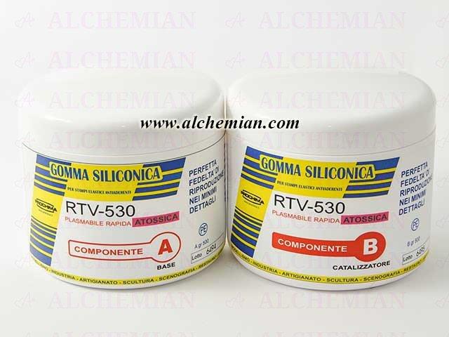 Gomma siliconica RTV530 Prochima 1kg