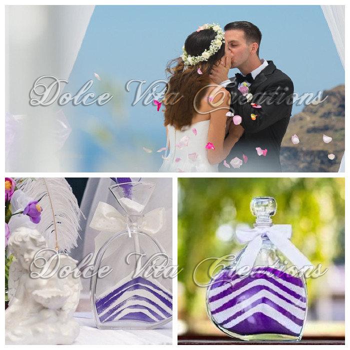 Matrimonio Simbolico Rito Della Sabbia : Kit completo rito della sabbia feste matrimonio di