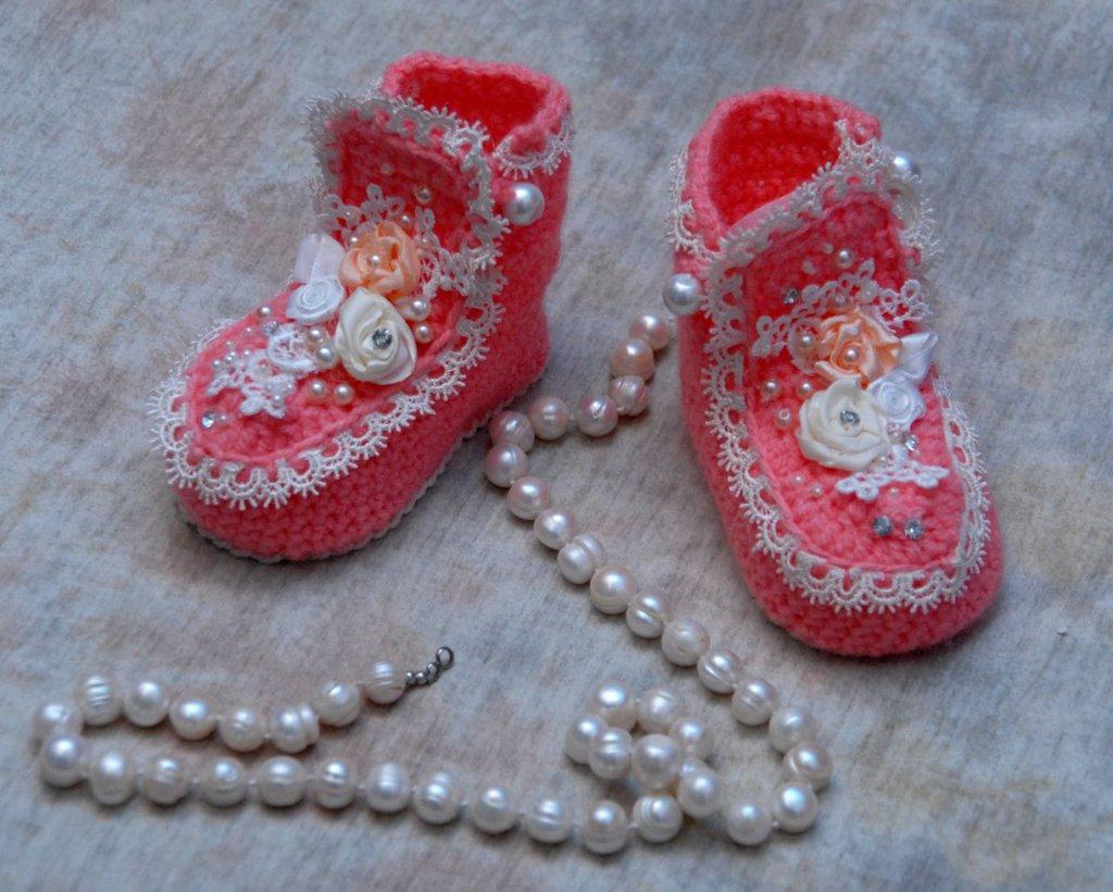 scarpette per bambina neonata