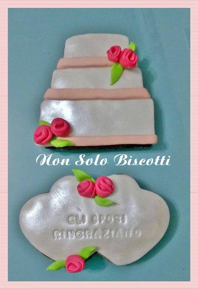 Biscotti decorati Matrimonio