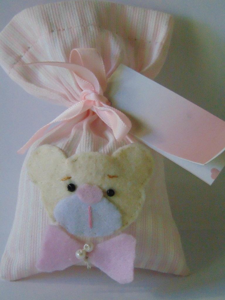sacchetto confetti nascita