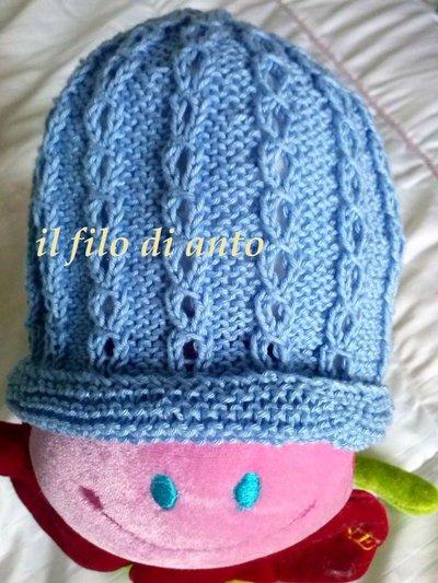 Cappello/berretto in cotone