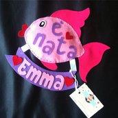 FIOCCO NASCITA pesciolino Emma BabyCake