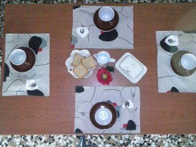 tovagliette per la colazione