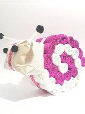 Selly la Lumaca torta di pannolini - Idee regalo per neonati e baby shower