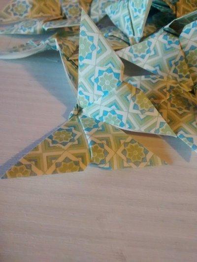 Farfalle origami di carta