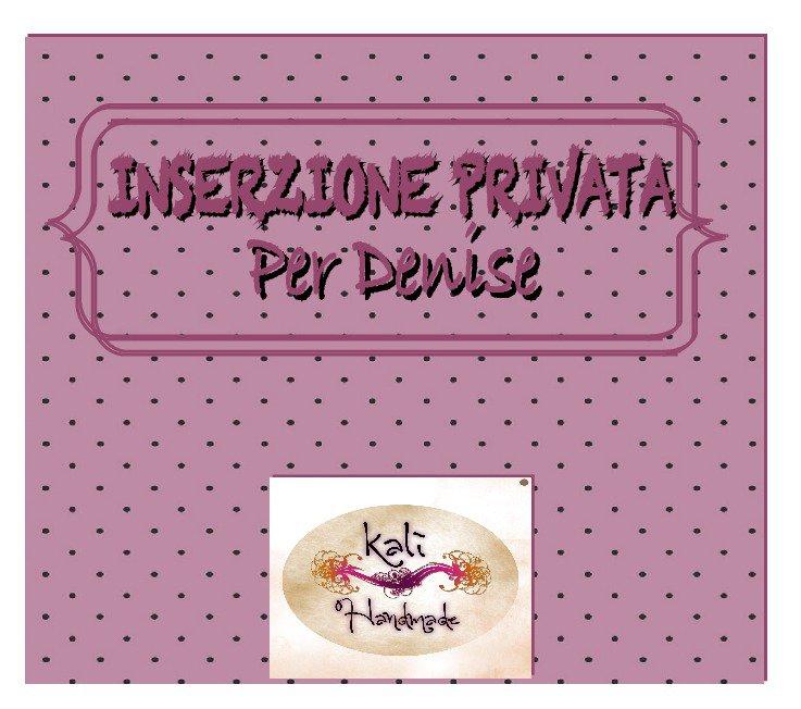 INSERZIONE PRIVATA_ per DENISE