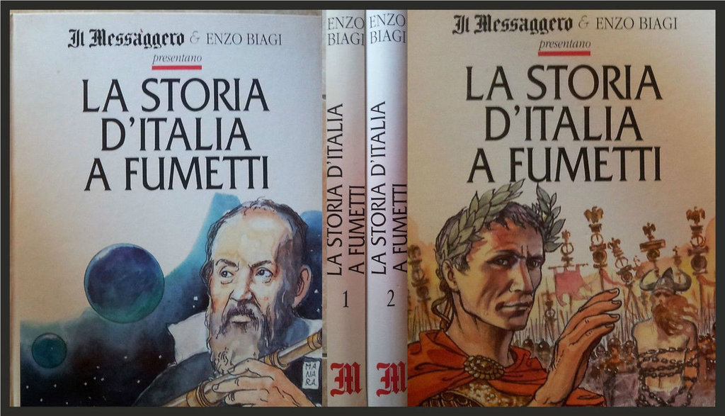 La storia d'Italia a fumetti di Enzo Biagi