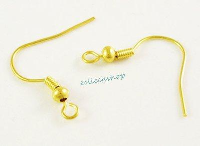 Monachelle in ottone colore oro 20 pz