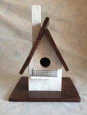 casetta per uccelli in legno - CALLA-