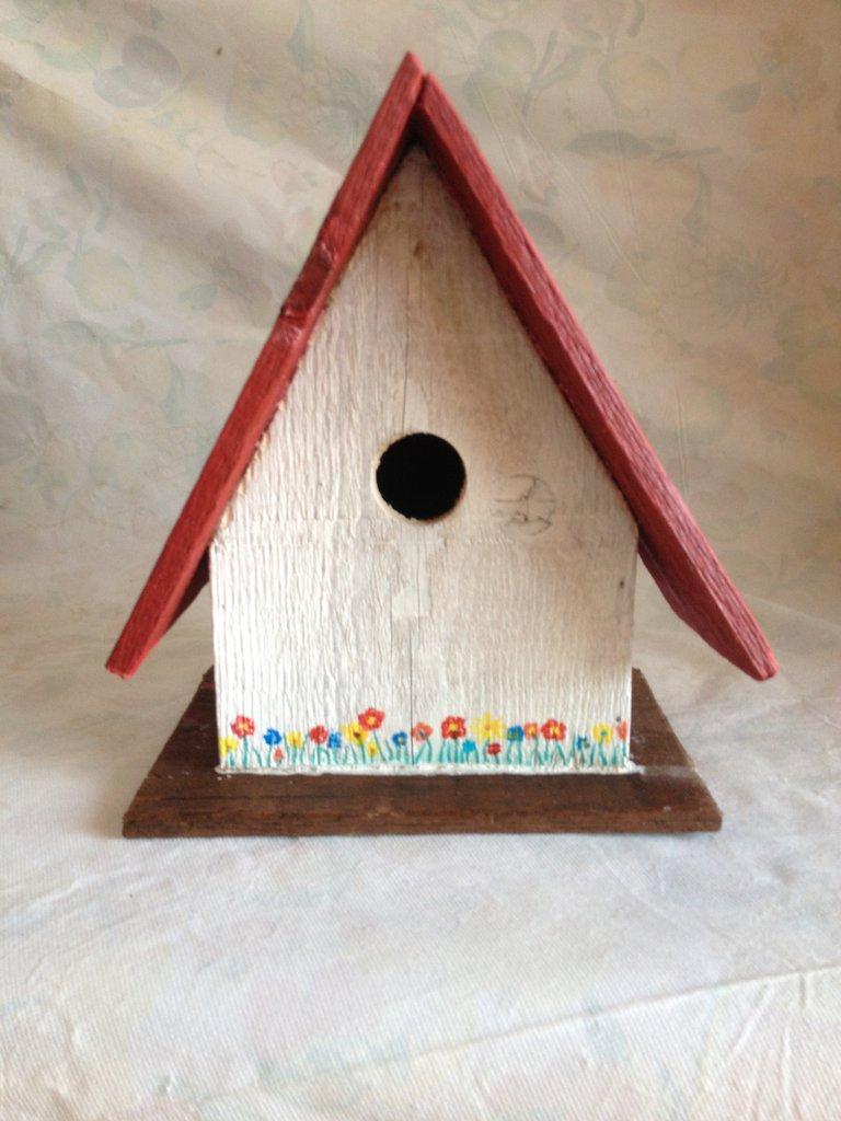 casetta per uccelli in legno - AZALEA-