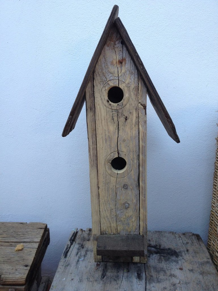 Casetta per uccelli in legno erica per la casa e per - Oggetti in legno per la casa ...