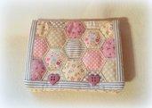 Borsellino con patchwork di esagoni
