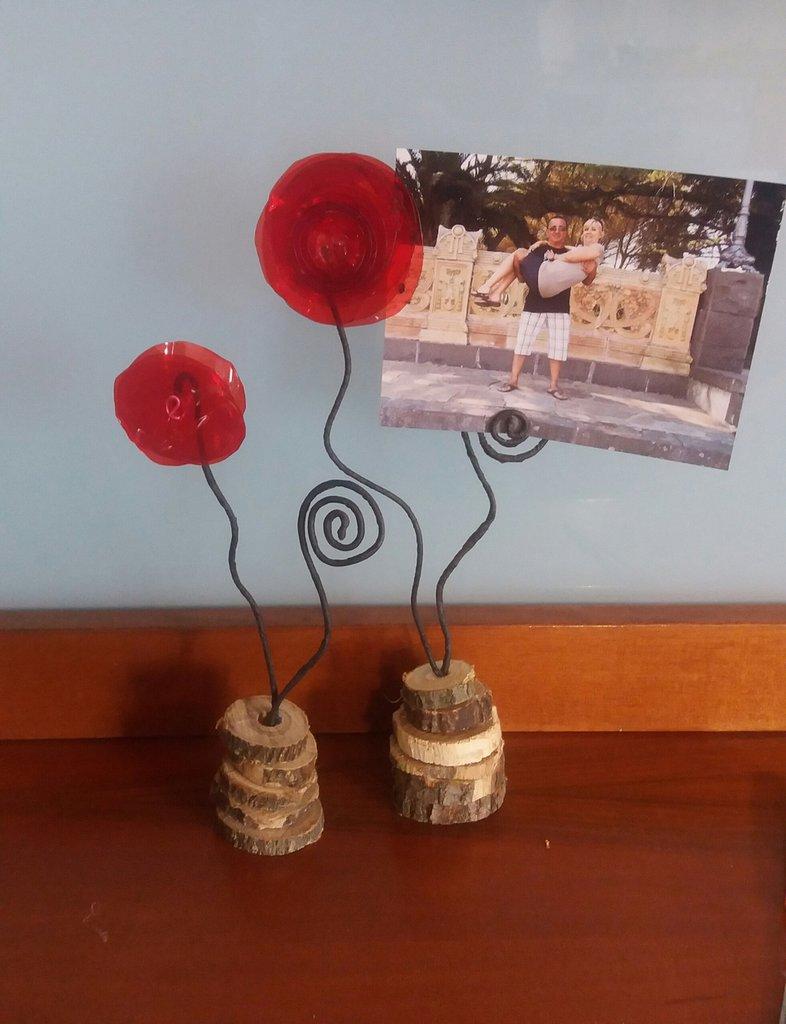 Portafotografie fiore ranuncolo