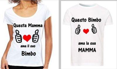 Maglietta Madre & Figlio