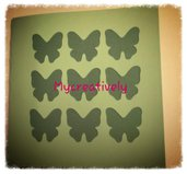 Partecipazione matrimonio farfalle