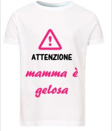 Maglietta Bambina Festa della Mamma