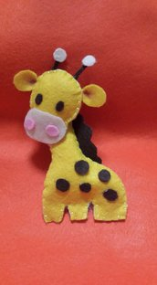 Giraffa in pannolenci