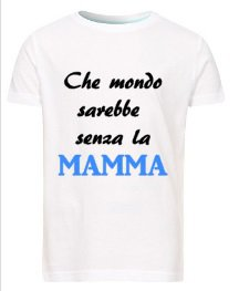 Maglietta Bambino Festa della Mamma
