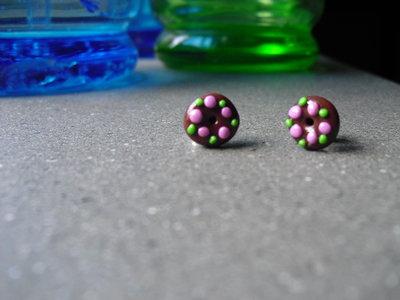 orecchini mini ciambelline