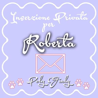 X Roberta Inserzione Privata - duplicato cornice nera zampine HAY LIN fuxia
