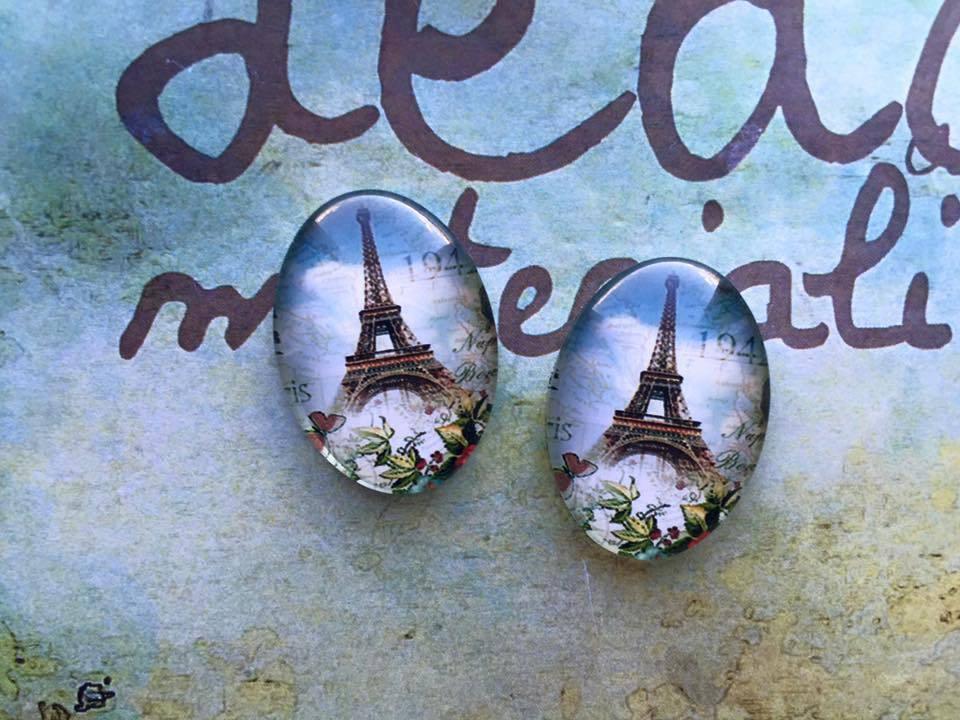 Cabochon Torre Eiffel mod.080