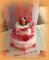coccinelle topper cake