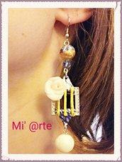 orecchini pendenti fimo