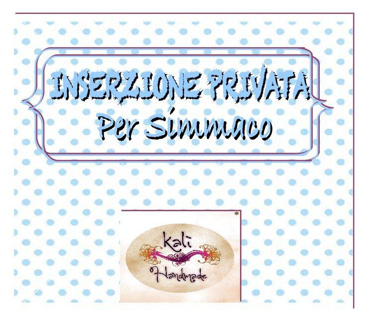 INSERZIONE PRIVATA_ per SIMMACO