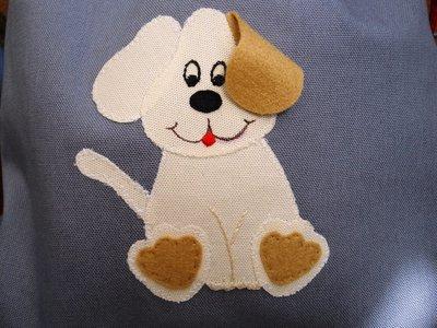 Sacchetta con cagnolino